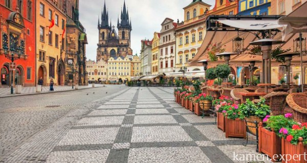Брусчатка в Праге