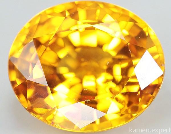 Золотистый сапфир
