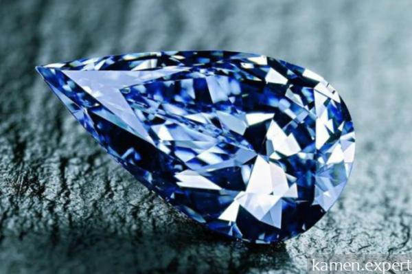 Алмаз синего цвета