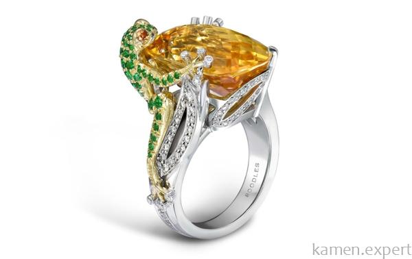 Перстень с ящеркой