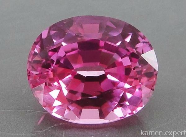 Розовый сапфир: свойства камня