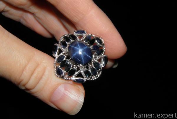 Сапфировый перстень