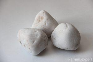 белый кварц камни