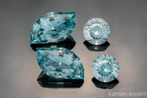 камень голубой кварц