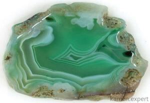 зеленый агат камень