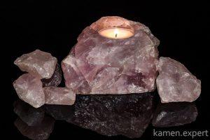 розовый кварц минерал